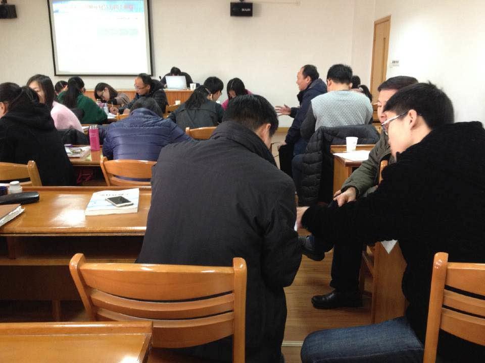 1月16日西南交通大学SMBA宁波班上课瞬间